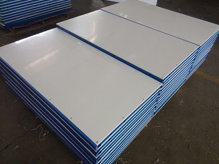 hdpe synthetic ice rink dasher boards