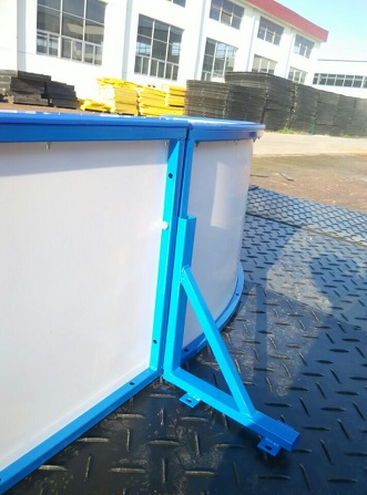 hdpe synthetic ice rink dasher board