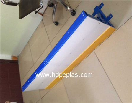 Hot sale synthetic roller skating court barrier panel