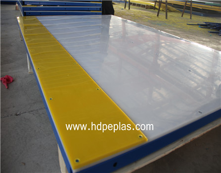 synthetic ice-skating rink dasher sheet