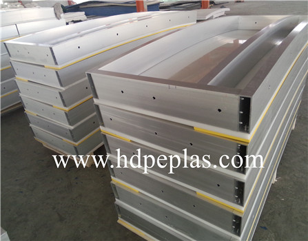 HDPE dasher board system PE backyard rink barriers