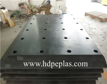 uhmw pe facing pads/UHMWPE plastic fender board/UHMW-PE SLIDING PLATES AND FENDE