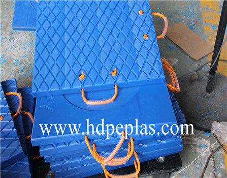 Super Tough UHMWPE Outrigger pad & Cribbing Plate