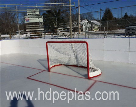 hockey ice rink barrier and fence/shooting roller skating rink plastic board