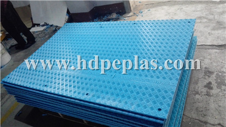 BLUE ground protection mats