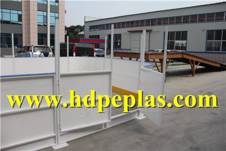 Rink Barrier System/soccer Rink Wall/soccer Dasher Board