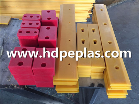 Different colored UHMWPE strip