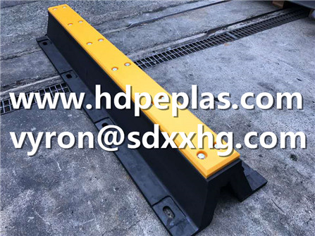 Application of our UHMWPE fender pad