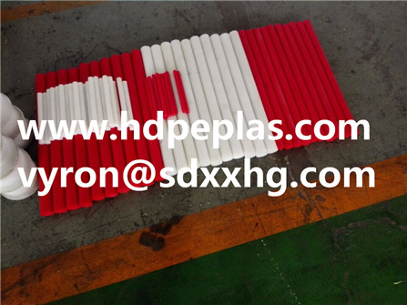 HDPE/UHMWPE rod as customized color