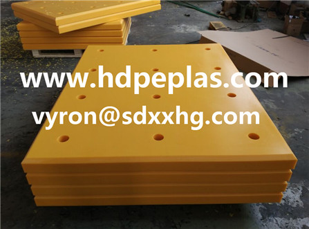 Economic uhmwpe marine fender pad