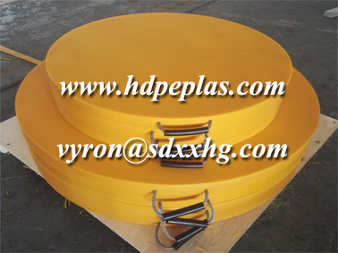 high hardness machined crane outrigger pad