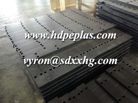 Customized UHMWPE excavator track pads