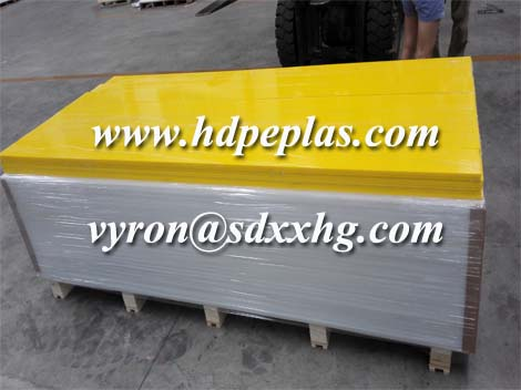 high density colored hdpe plastic sheets