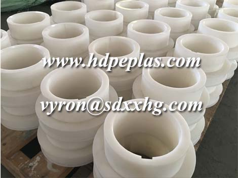 CNC milling machining special UHMWPE plastic engineering part