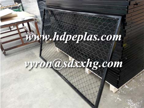 screen safety netting for playground fence every side