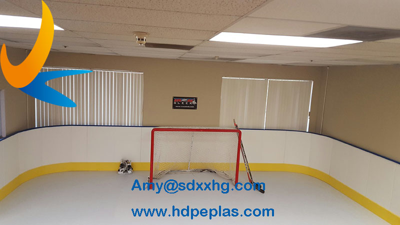 hdpe ice hockey shooting pad