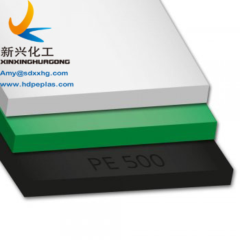 Single color hdpe sheet