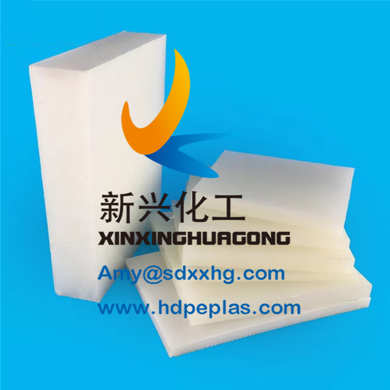 CNC PE HDPE sheet mechanical skid platform plastic parts