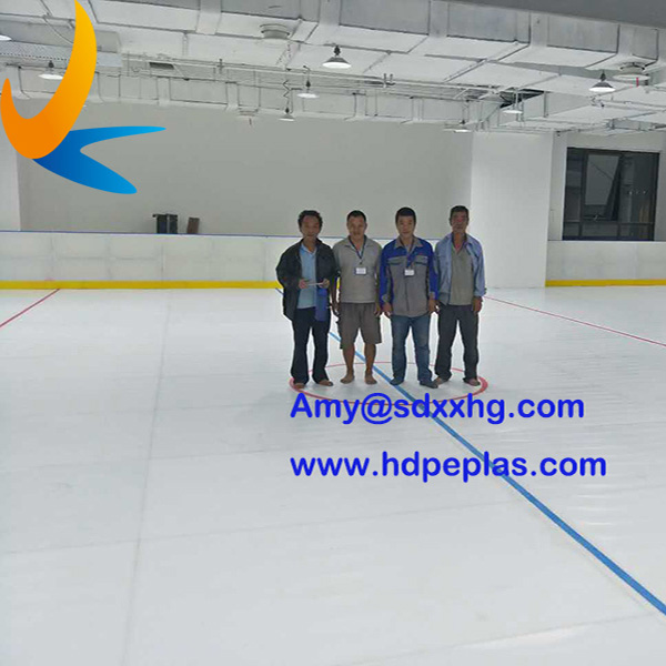 Syn-Ice Synthetic ice rink