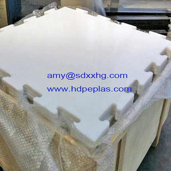 HDPE synthetic ice rink hockey shooting tiles