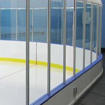 floor tiles skating rink/Hockey dasher board system