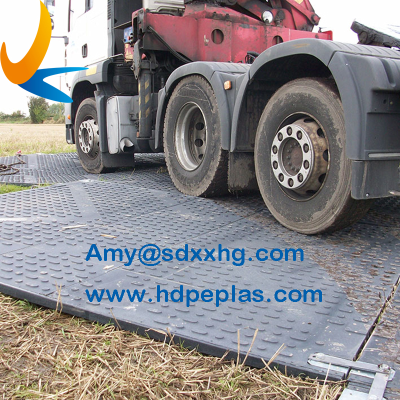 Heavy duty ground mats