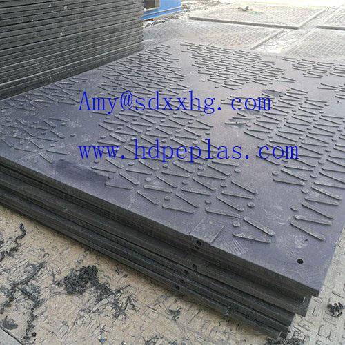 Heavy duty ground mats