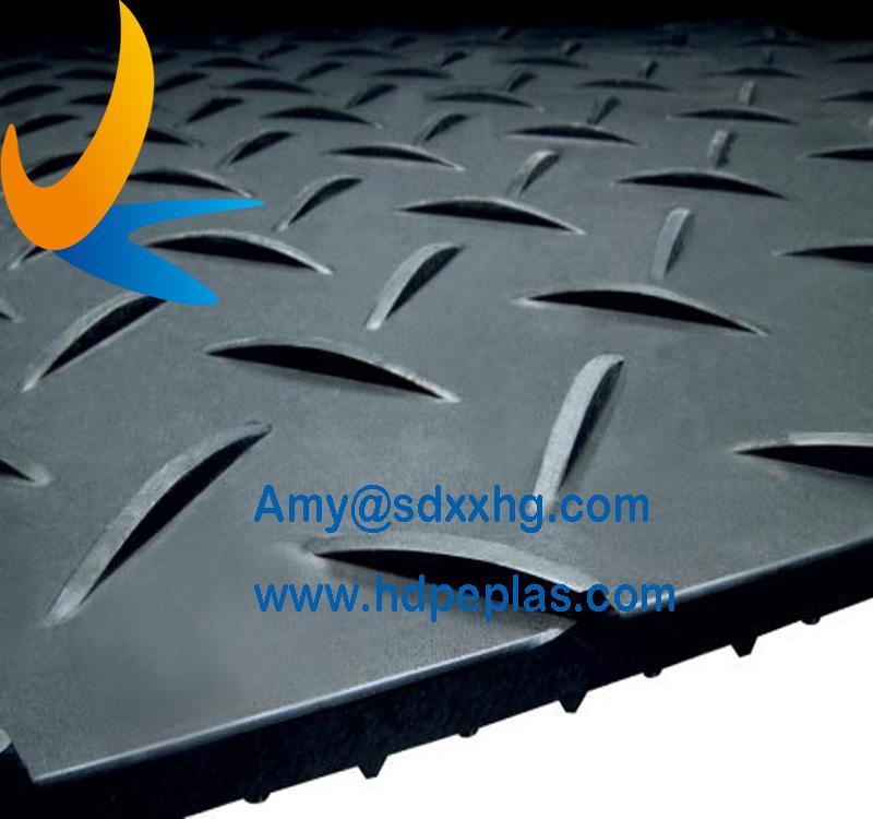 Light duty ground mats