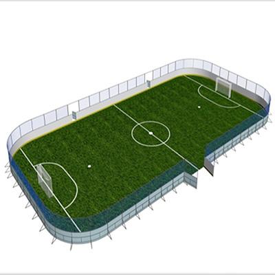 soccer Dasher Board Plastic Wall indoor Aluminum Dasher Board System
