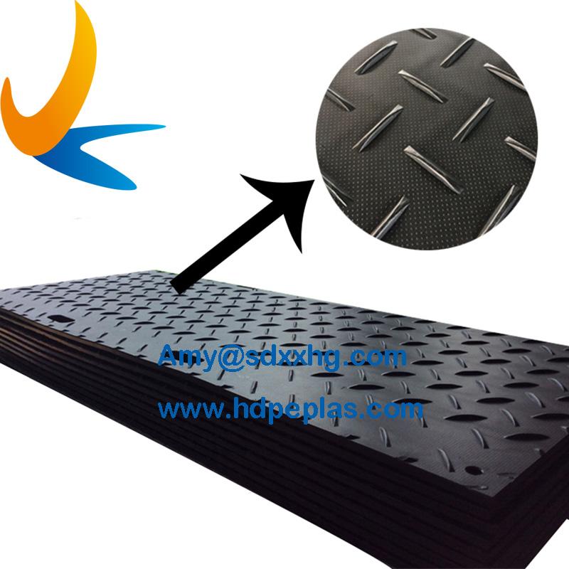 Diamond Plate Tread Ground Protection Mat