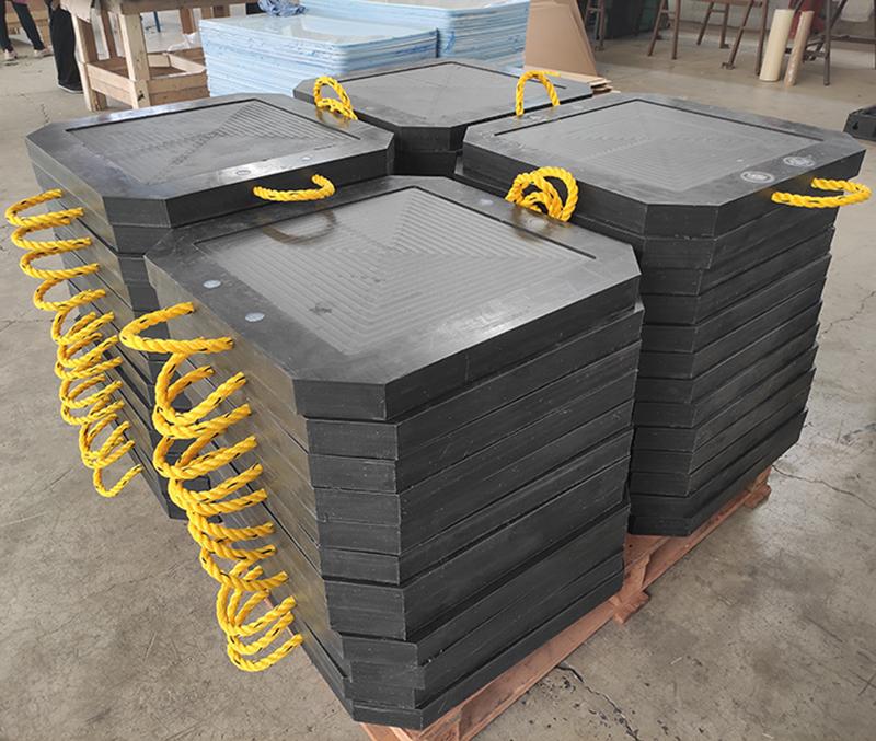 Crane Outrigger pads