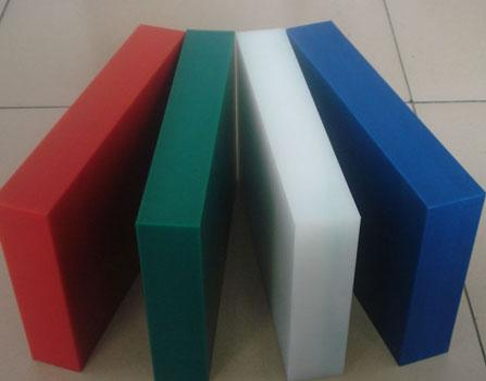 Single Colour HDPE Sheet