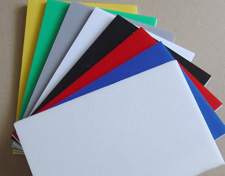 1.22*2.44m UV coated PVC foam board