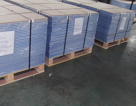 Orange peel surface HDPE texture sheet