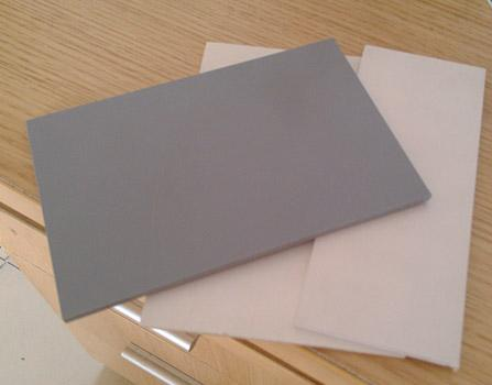 White rigid pvc plastic sheet/thin rigid plastic sheet/2mm thick