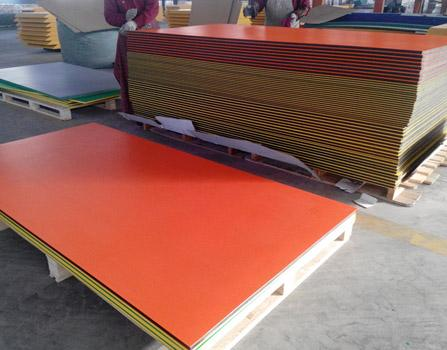 dual layer double colour HDPE plastic sheet
