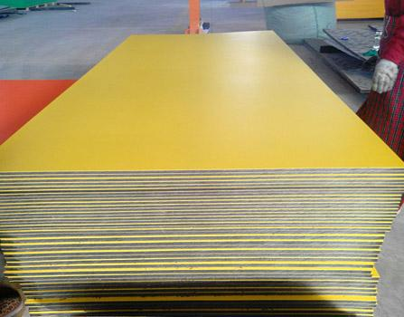 double layered HDPE plastic Sheet