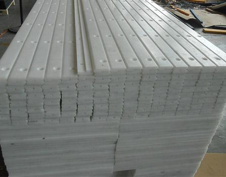 White Hdpe Plastic Strip
