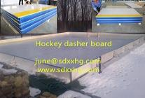 Ice hockey dasher boards become our featured product