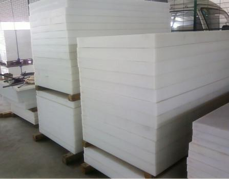 white 100mm thickness PP block