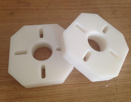Good quality HDPE Machined Parts in sales