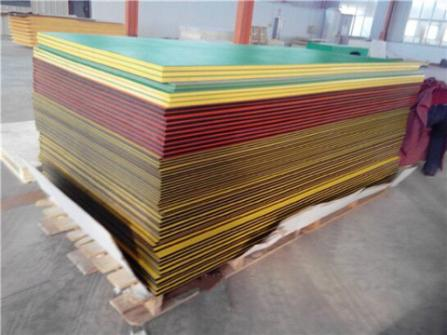 dual colour hdpe sheet cut to size for playground hdpe product
