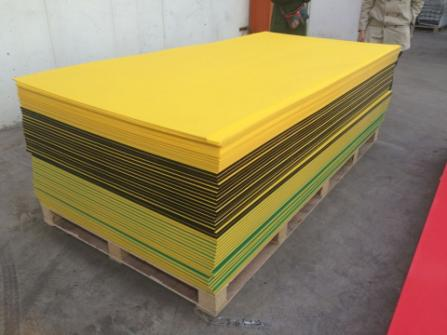 Colored Extruded HDPE Sheets Playground