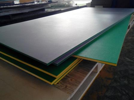 UV stabilized outdoor playground Colored hdpe plate