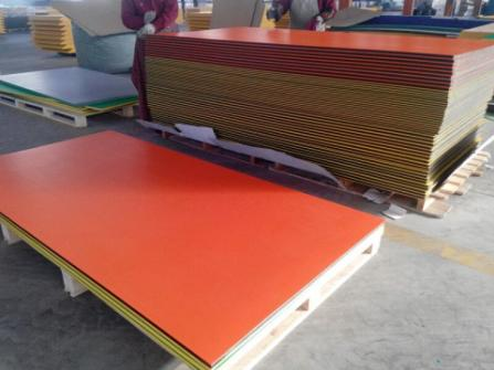 UV Resistance Two Colored HDPE Plastic Sheet for Children Playground