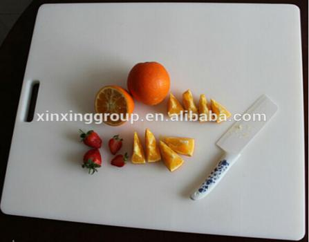 High Quality Plastic Safety Cutting Board/PE Plastic Chopping Board