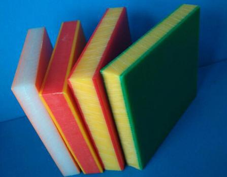 HDPE sheet with 3 layers and Orange skin Texture 19mm / 15mm /12mm thickness