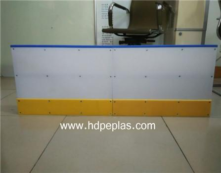 ice rink dasher board/competitive price hdpe dasher board