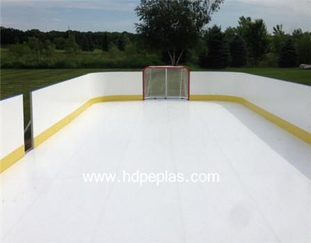Plastic fence indoor | ice hockey dasher board | Ice Rink Barrier
