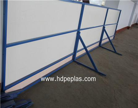 Basketball dasher boards | Floorball rink board | Portable soccer wall